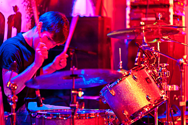 Rael Bearman on drums