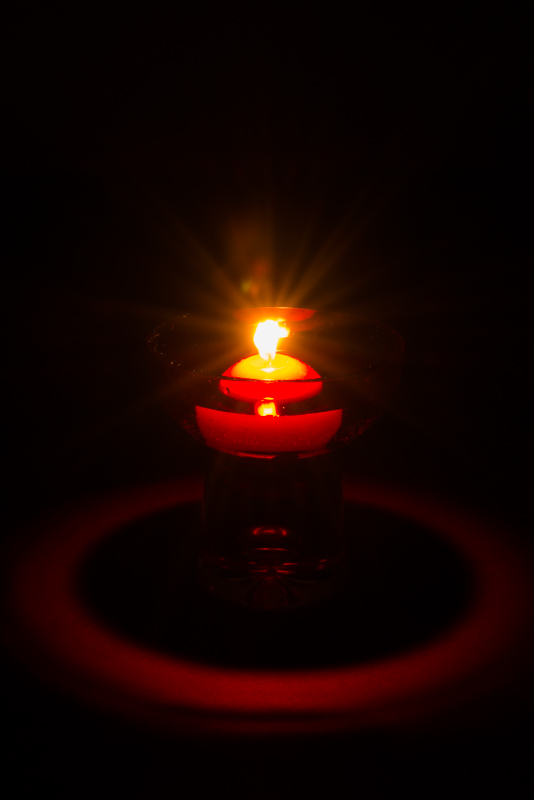 Picture 15: Candle by candlelight