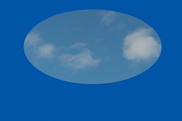 Blue: Yesterday's blue sky with a pure blue background. This shows that the sky is more cyan than blue.